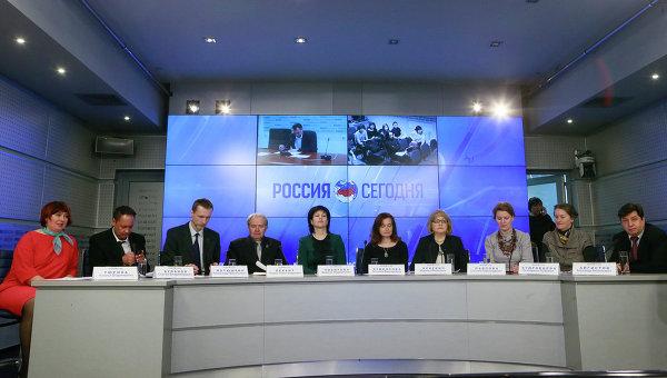 Круглый стол на тему Русский как второй язык граждан стран СНГ прошел в МИА Россия сегодня