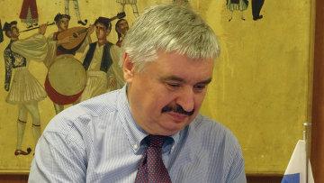 Помощник руководителя Росслеьхознадзора Алексей Алексеенко. Архивное фото