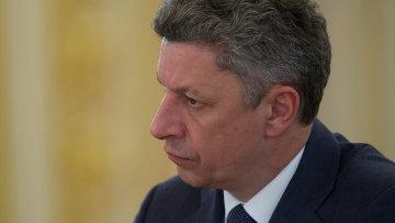 Лидер парламентской фракции Оппозиционный блок Юрий Бойко. Архивное фото