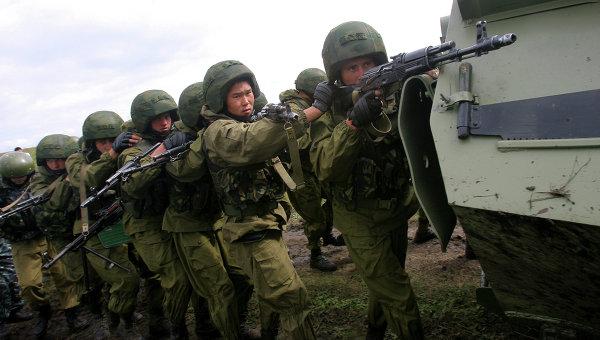 Антитеррористические учения стран-членов ШОС. Архивное фото