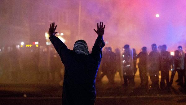Беспорядки в Балтиморе, США. Архивное фото