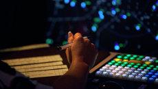 Авиадиспетчер за работой. архивное фото