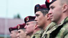 Военнослужащие 173-й бригады армии США перед началом украинско-американских командно-штабных учений. Архивное фото