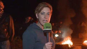 Корреспондент российского телеканала RT Пола Слиер. Архивное фото