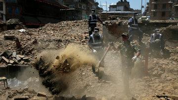 Ситуация в Непале. Архив
