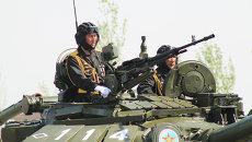 Казахстанские военные. Архивное фото