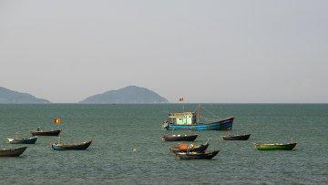 Вид на Южно-Китайское море в Дананге. Архивное фото