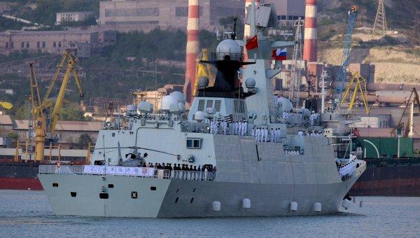 Российско-китайские учения Морское взаимодействие - 2015