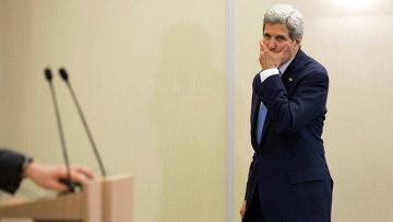 Государственный секретарь США Джон Керри в Сочи. Архивное фото
