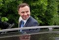 Лидирующий на президентских выборах в Польше Анджей Дуда