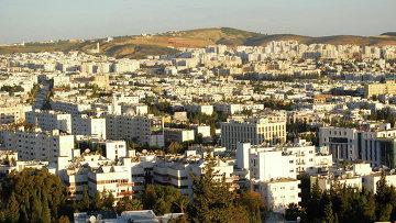 Вид города Тунис. Архивное фото.