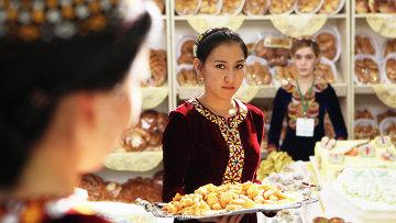 Выставка экономических достижений Туркменистана, приуроченная к 19-ти летию независимости Туркменистана в выставочном дворце Серги Кошги в Ашхабаде