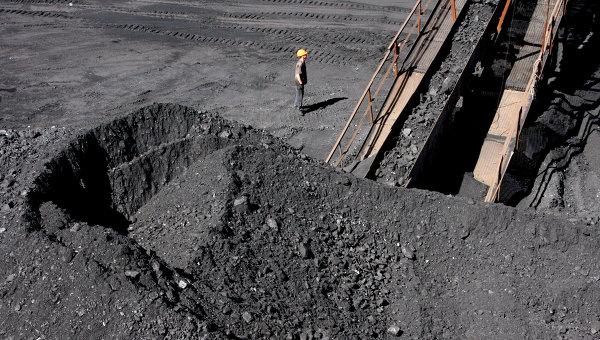 Уголь. Архивное фото
