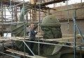 Cкульптор, народный художник Cалават Щербаков работает над моделью памятника Великому князю Владимиру, который планируется установить на Воробьёвых горах в Москве