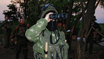 Ополченцы в ДНР. Архивное фото
