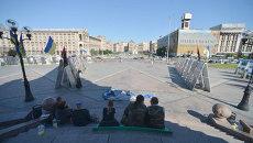 Палаточный лагерь в центре Киева