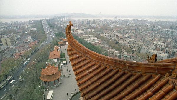 Китай. Город Ухань. Архивное фото