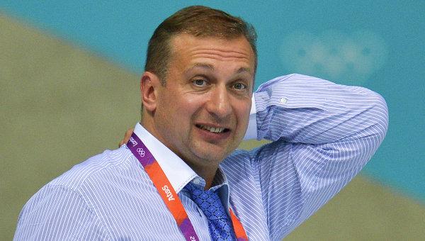 Президент российской федерации прыжков в воду Алексей Власенко. Архивное