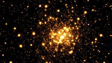 Шаровое скопление Liller 1 в созвездии Скорпиона