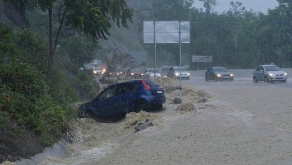 Наводнение в Сочи глазами очевидцев РИА Новости  Наводнение в Сочи глазами очевидцев