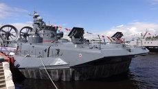 Военно-морской салон в Петербурге: корвет Стойкий и подлодка Старый Оскол