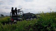 Полиция в Мексике. Архивное фото