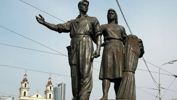 Советский памятник в Вильнюсе
