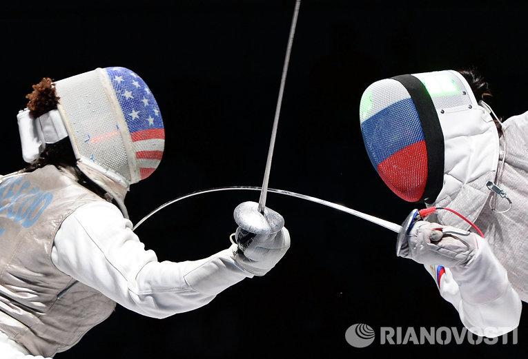 фото фехтование сша россия