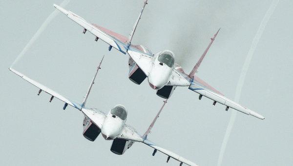 МиГ-29 на Международном авиационно-космическом салоне. Архивное фото