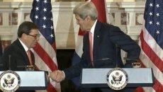 Примирение Кубы и США: открытие посольства в Вашингтоне и заявления дипломатов