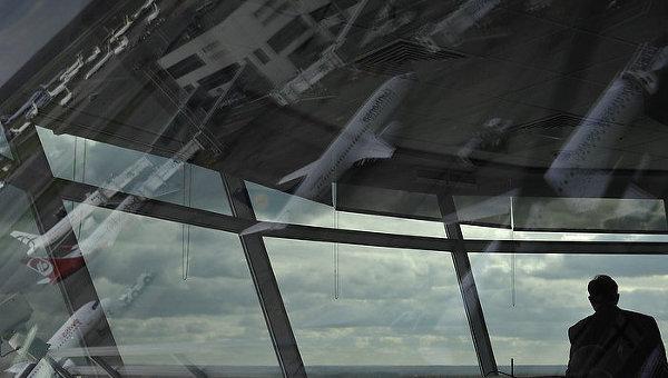 Работа авиадиспетчеров. Архивное фото