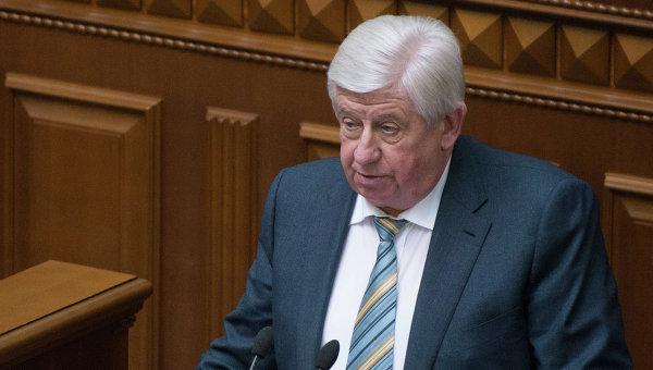 Виктор Шокин, назначенный на должность генерального прокурора Украины. Архивное фото