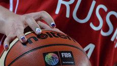 Баскетболистка сборной России. Архивное фото