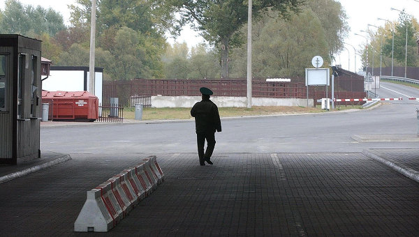 Белорусский пограничник. Архивное фото