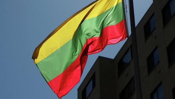Флаг Литовской Республики. Архивное фото