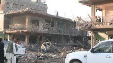 Взрыв заминированного грузовика в Кабуле разворотил несколько домов