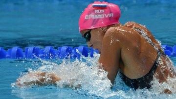 Юлия Ефимова (Россия) на XVI чемпионате мира по водным видам спорта в Казани. Архивное фото