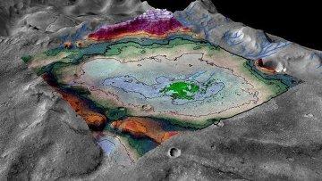 Ученые нашли на Марсе следы озера