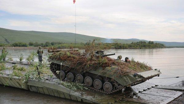 Военнослужащие РФ иМонголии начали общее учение вБурятии
