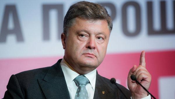 Порошенко заявил, что цель блокады Крыма - его возвращение в состав Украины