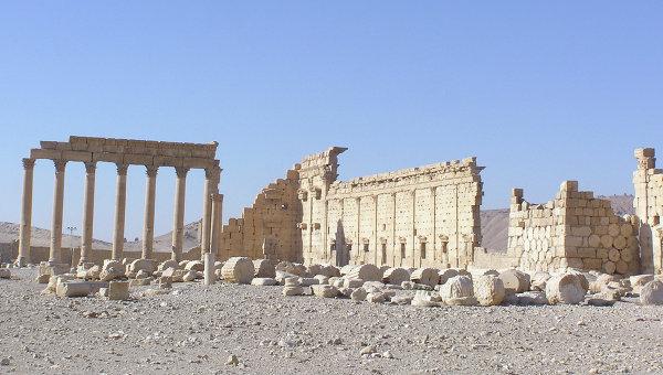 Развалины древнего города Пальмира. Архив
