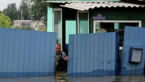 Паводок в Уссурийске