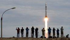 Старт космического корабля Союз ТМА-18М. Архивное фото
