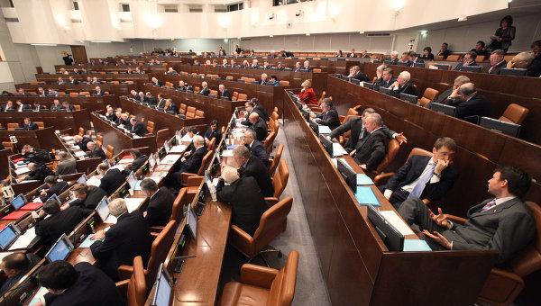 Заседание Совета Федерации РФ. 3 февраля 2010 года