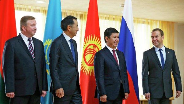 Заседание межправительственного совета стран-членов ЕАЭС. Архивное фото