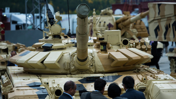 Участники 10-ой международной выставки Russia arms expo. Архивное фото
