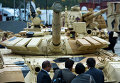 Танк Т-72-63 на выставке Russia arms expo