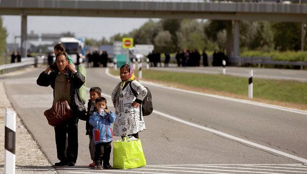 Очередной рекорд по числу прибывших беженцев установлен в Венгрии