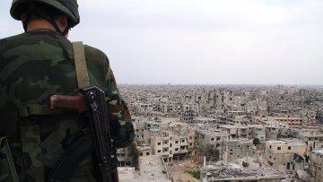 Военнослужащий сирийской армии, архивное фото