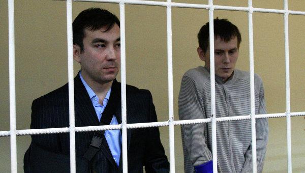 Россияне Евгений Ерофеев (слева) и Александр Александров. Архивное фото